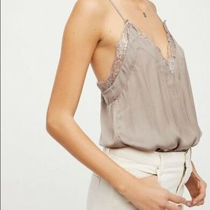 Free People lace body suit